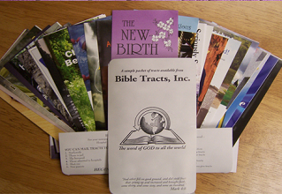 FREE Gospel Tracts Mailed Sample Pack - Hunt4Freebies