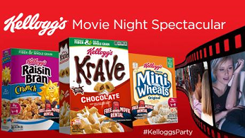 Kelloggs Movie Night