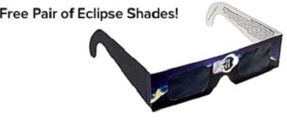 Pair of Eclipse Glasses