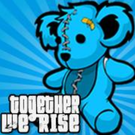 Together We Rise Bear Stickers