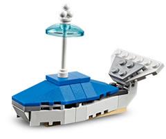 LEGO-Whale-Mini-Model