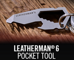 Leatherman 6 Pocket Tool