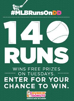 MLB Runs on Dunkin