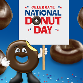Luxury FREE Donuts On National Donut Day On June 56 2015