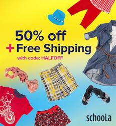 Schoola-half-off