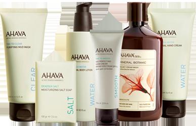 AHAVA-Skincare-Products