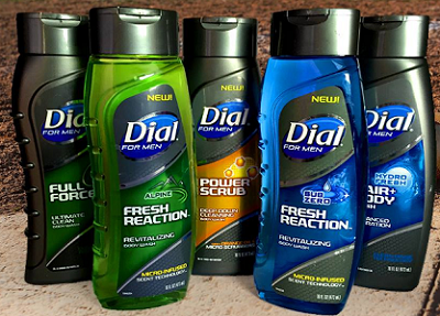 Dial for Men New Body Wash