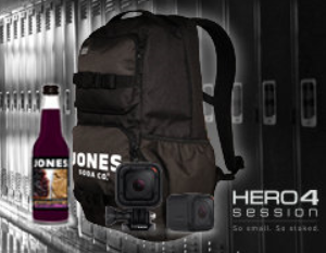 Jones Soda Back To School