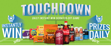 Kroger Game Day Greats Instant Win Game