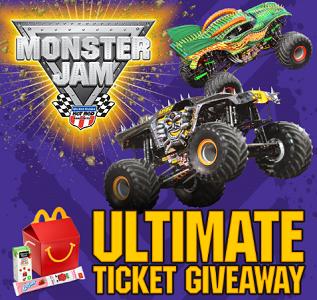 Monster Jam Ultimate Ticket Giveaway