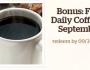 Free Bonus Coffee at Panera