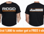 Ridgid Power Tools T-shirt