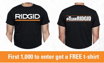 Ridgid Power Tools T-shirt