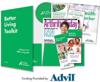 Advil and The Arthritis Foundation Better Living Toolkit
