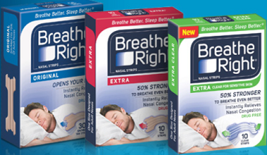 Breathe Right Advanced Strips