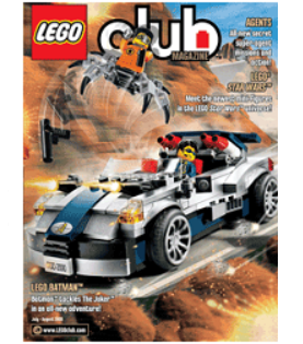 LEGO Club Jr Magazine