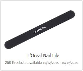 Possible Free L Oreal Nail File Hunt4freebies