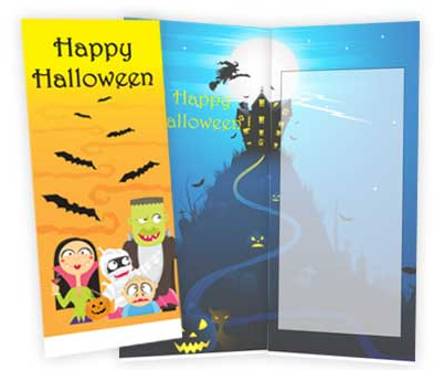 Personalized Halloween Card