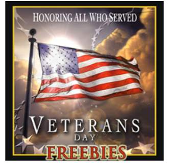 Veterans Day Freebies 2015