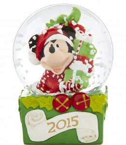 2015 Disney Snow Globes