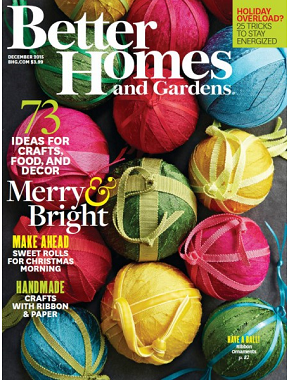 Better Homes and Gardens Magazine 2015