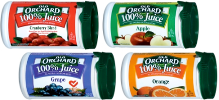 Can of Old Orchard Frozen Juice Concentrate 2