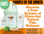 China-Gel Topical Pain Reliever Sample