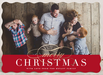 Customized Minted Holiday Cards