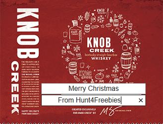 Knob Creek Holiday