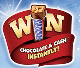 Mars Candy Gift Card Instant Win Game