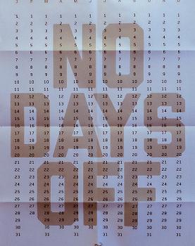 No Days Off Calendar