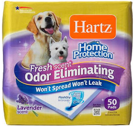 Odor-Eliminating Pads for Dogs