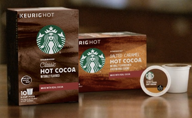 FREE Starbucks Hot Cocoa K-Cup Sample - Hunt4Freebies