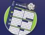 2016 AED Plus Wall Calendar
