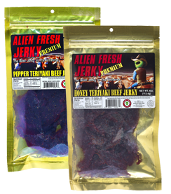 FREE Alien Fresh Jerky Sample.