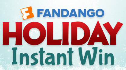 Fandango Holiday Instant Win Game