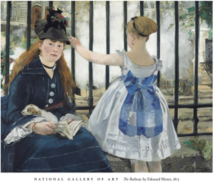 The-Railway-by-Edouard-Manet-Poster