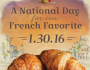 FREE Croissant at la Madeleine Country French Cafe