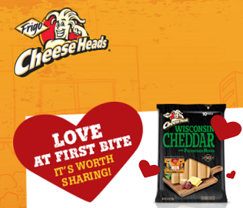 Frigo Cheese Heads Instant Win Game Sweeps