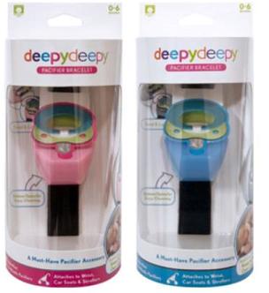 Deepydeepy Pacifier Bracelets