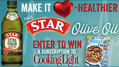 STAR Fine Foods Cooking Light Magazine Sweeps