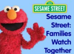 Sesame Street Families Watch Together
