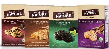 Back to Nature Crackers or Cookies