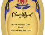 Crown Royal Gift Labels