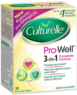 Culturelle Pro-Well 3-in-1 Complete Formula