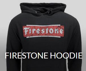 Firestone branded hoodie