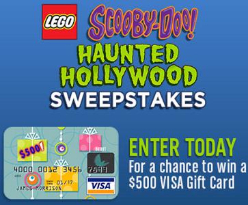 LEGO Scooby-Doo Haunted Hollywood Sweepstakes