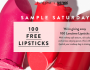 Lipstick From Lancome Giveaway