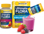 Ultimate Flora Probiotic Gummies and Fizzy Drink Mix