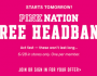 FREE Pink Nation Headband